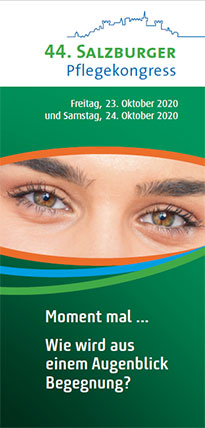 Flyer Salzburger Pflegekongress 2020
